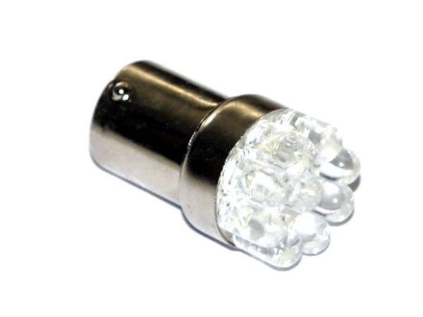 """BA15s Noflix Flasher """"LED"""" kaltweiß"""