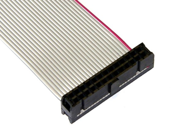 "Ribbon Cable 26pin, 49cm (19""), 2 Connector"