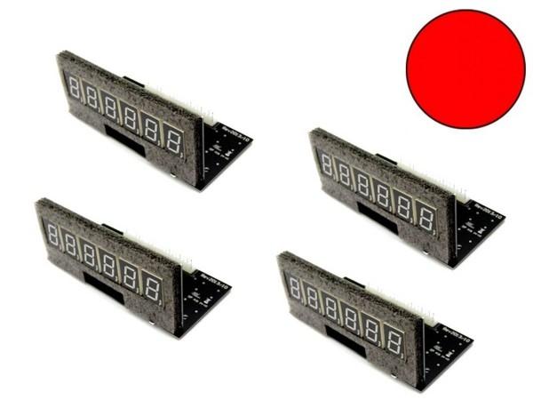 Pinballcenter Flipper Display Set 5, rot