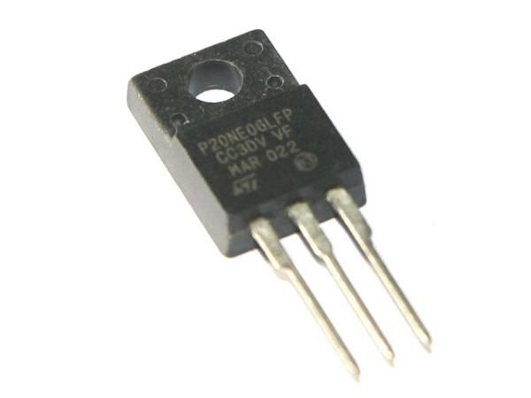 Transistor P20NE06L