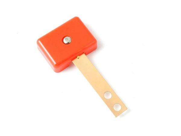Target orange, 3D rectangular extra wide