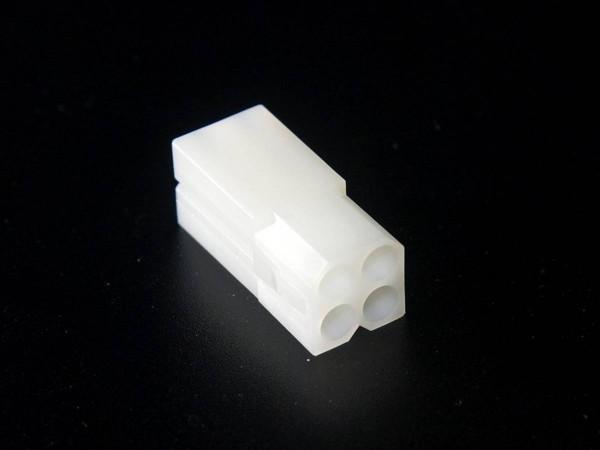 "Molex Stecker Gehäuse, 4 Pin (2x2), 0.093"""