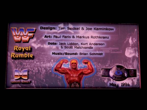 Custom Card for WWF Royal Rumble, transparent