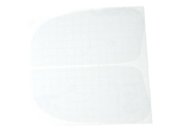 Protective Foil Flipperbutton - transparent