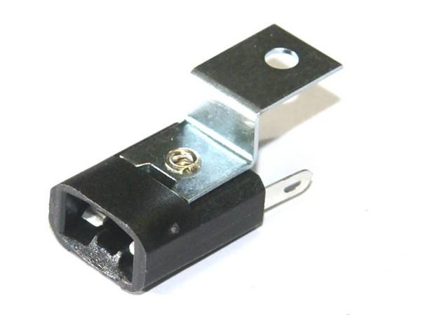Lamp socket - wedge base, T10, #555 (077-5026-00)