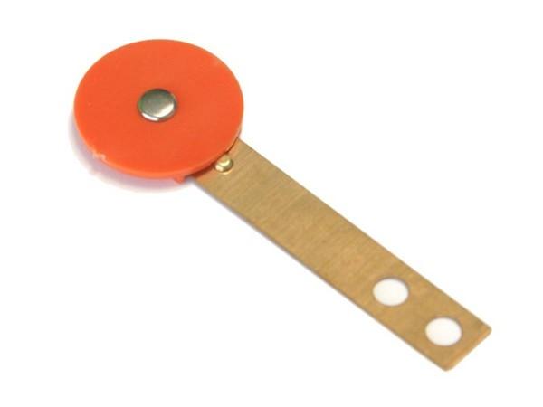 Target orange, rund