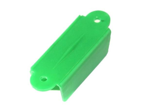 """Durchlauf 2-1/8"""", grün opaque doppelseitig"""