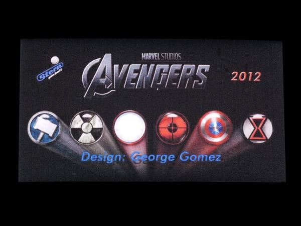 Custom Card for The Avengers (1), transparent
