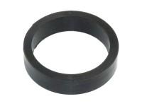 Flipper Gummi - schwarz, mini (545-6187-00)