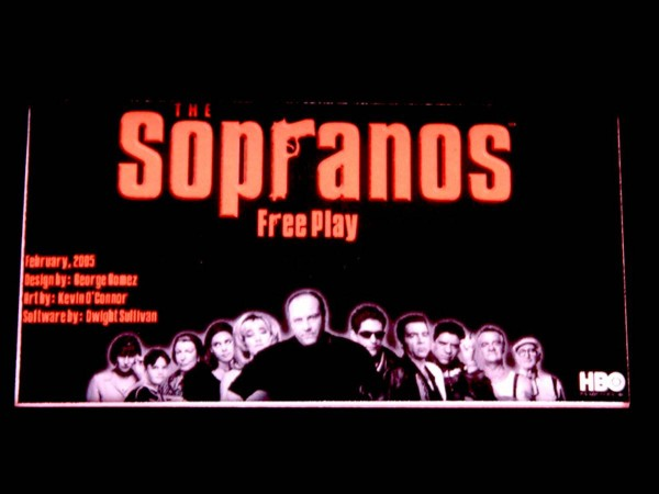 Custom Card for The Sopranos, transparent