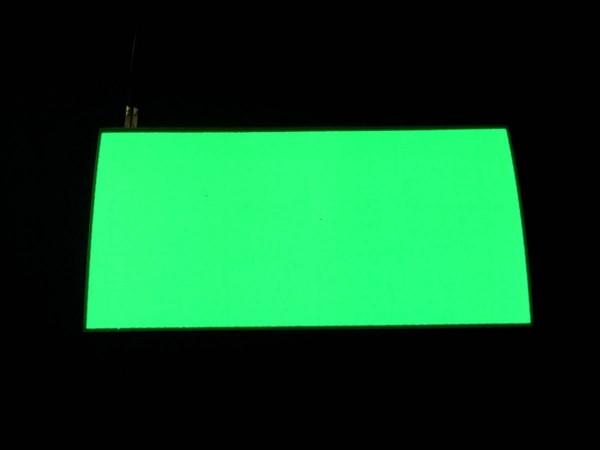 Noflix Pinball Card (Bally / Williams, green), illuminated