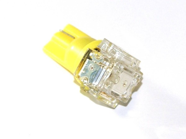 "T10 Noflix Flasher ""Superflux Block"" yellow"
