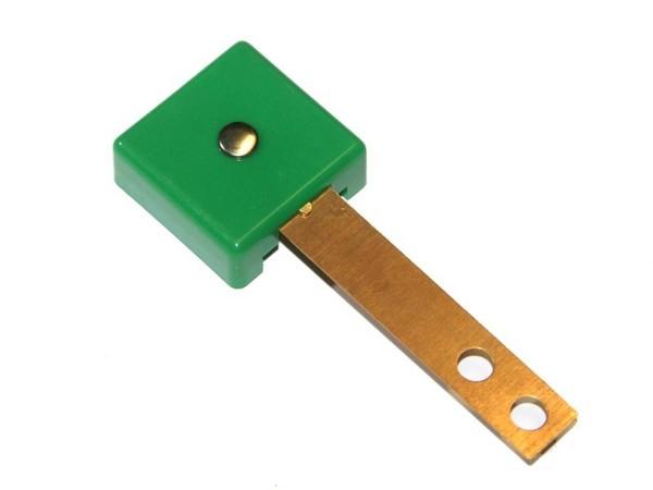 Target grün, 3D rechteckig