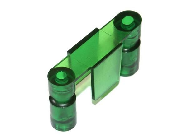 Durchlauf SEGA, Stern grün transparent